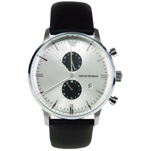 1cde49f13c7 Relógio Emporio Armani Ar0385 Couro Promocional E12 Xs juros