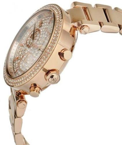 Relógio Michael Kors Mk5857 Parker Rose Original Garantia   Cineshop ... 7940003ac6