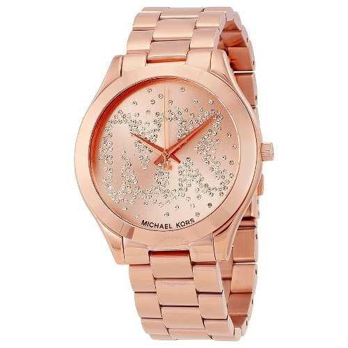 f140ff53a93d8 ... Relógio Michael Kors Luxo Mk3591 Rose Slim Novo L79 Completo ...