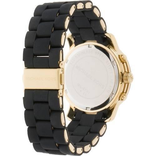 097567563e7 ... Relógio Michael Kors Mk5191 Preto Dourado Original Garantia ...