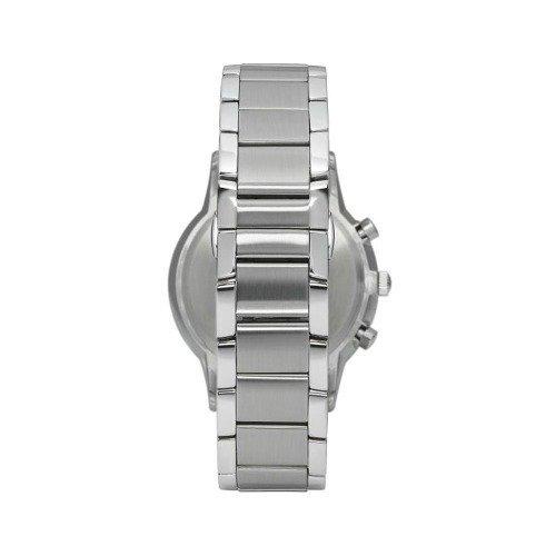 64711f4def2 Relógio Empório Armani Ar2486 Prata Azul Original Completo ...