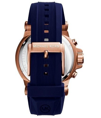 ... Relógio Michael Kors Mk8295 Masculino Azul Original Garantia ... f6cd9dd13b