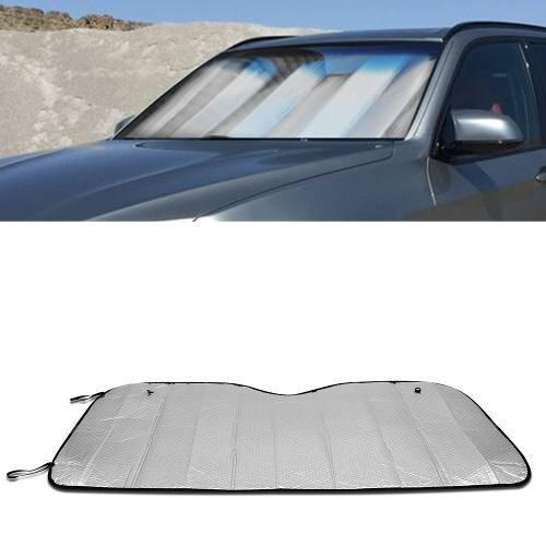 Protetor Solar Para-brisa Dobrável Prata Tech One