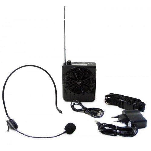 Kit Completo Amplificador Megafone Microfone Professores
