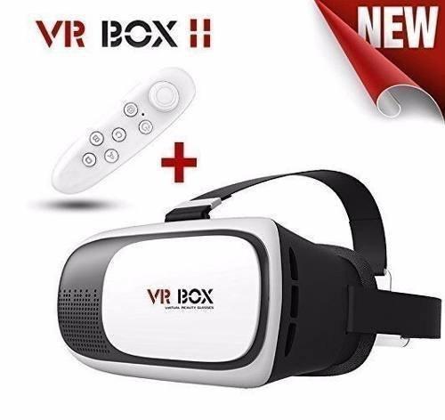 Óculos Realidade Virtual 3d Vr Box 2.0 Android Ios +controle