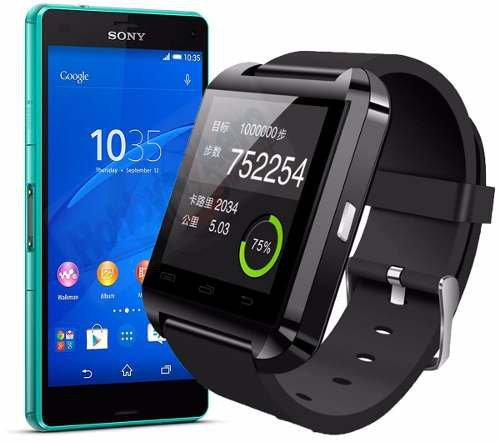 Smartwatch U8 Relogio Inteligente Bluetooth Android Iphone 6