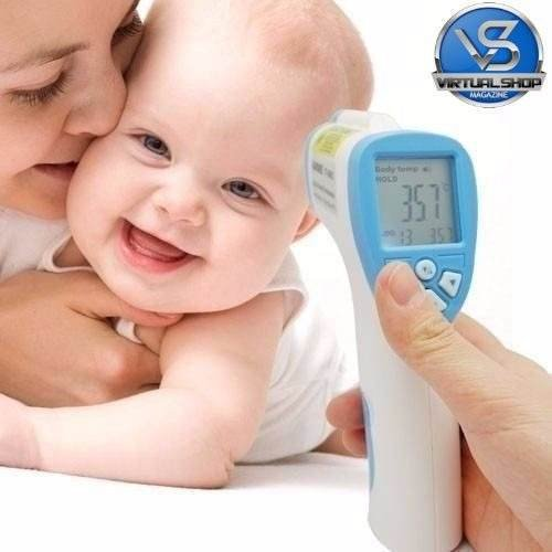 Termometro Digital Infravermelho Adulto E Infantil 5 Segundo