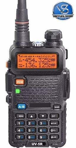 Radio Comunicador Dual Band Baofeng Uv-5ra Vhf Uhf + Fone Fm