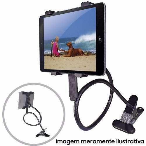 Suporte Articulado Universal P/ Tablet Cama Berço Vexcliptab