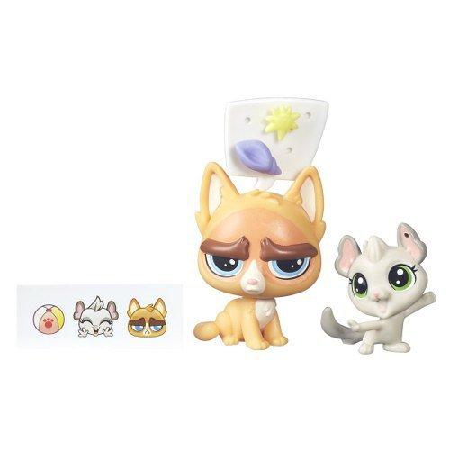 Boneco Little Pet Shop Sour Puss E Chinchilla - Hasbro