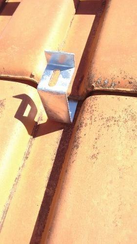 Suporte Painel Solar P/ Telha Cerâmica E Cimento