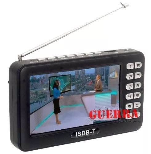 Mini Tv Digital Portatil Isdb-t Video Fm Microsd Pendrive