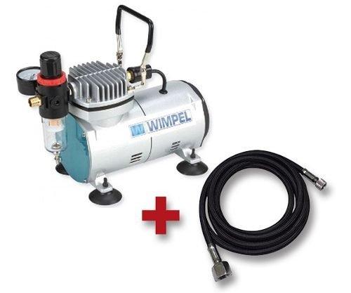 Compressor Para Aerógrafo Com Filtro De Ar Manômetro Bivolt