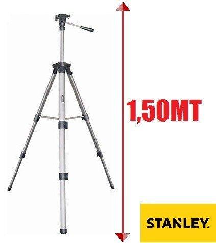 Tripé De 3 Secões E Cabeça Regulavel P/ Nivel Laser E Camera