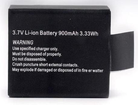 Bateria Extra Recarregável Sports Cam X4000 Wifi Ou Similar