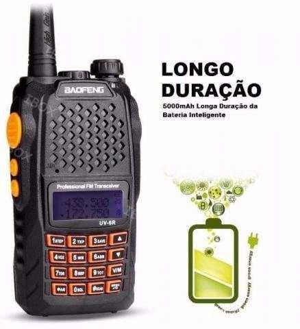 Radio Ht Walk Talk Dual Band Fm Baofeng Uv-6r 7w + 1 Antena