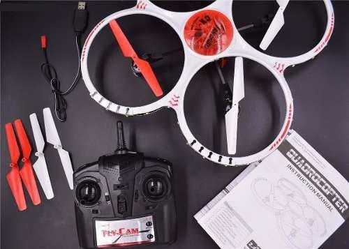 Drone Ufo Com Camera Led Noturno 2g Controle Remoto Cx-19
