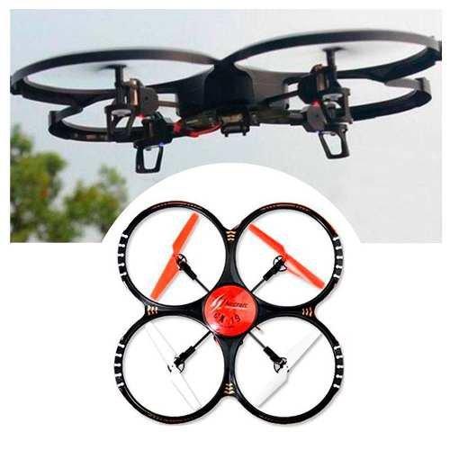 Drone Camera Ufo Com Led Noturno 2g Controle Remoto Cx-19