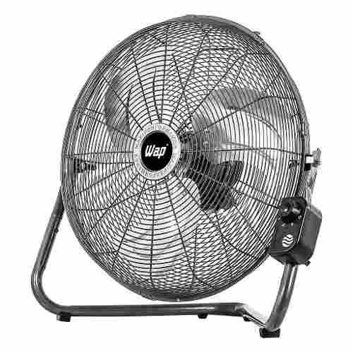 Ventilador 2 Em 1 Chão E Parede 110v Rajada Pro 55 Cm Wap