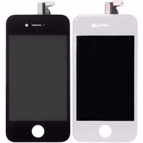 Tela Iphone 4 E 4s Lcd Touchscreen Original - Preto E Branco