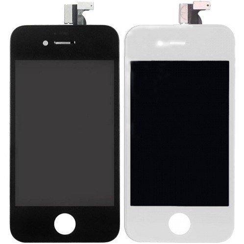 Tela Iphone 4 E 4s Lcd Touchscreen - Preto E Branco Envio Ja