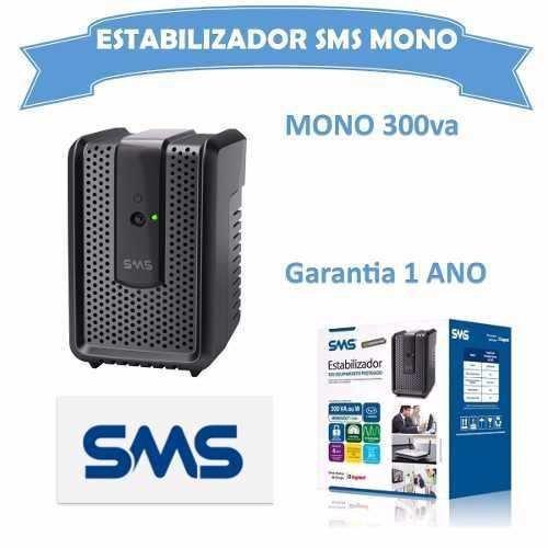 Estabilizador 110v Revolution Speedy 300va 4t Mono Sms