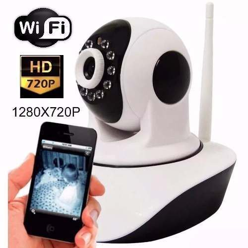 Camera Ip 1.3 Mp Alta Resolucao Hd 720 P2p Noturna Wireless