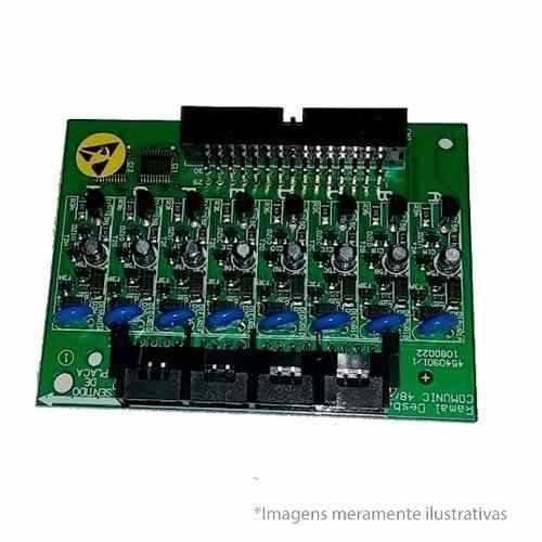 Placa 8 Ramais Comunic 48 Desbalanceada Intelbras