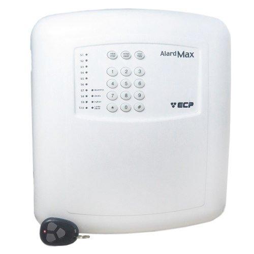 Central De Alarme Max 10 Ecp Com Discadora + Controle