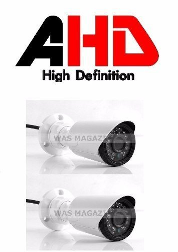 Kit 2 Cameras Resolucao Ahd -m  36 Ir Led  1.3 Mp 1280x960