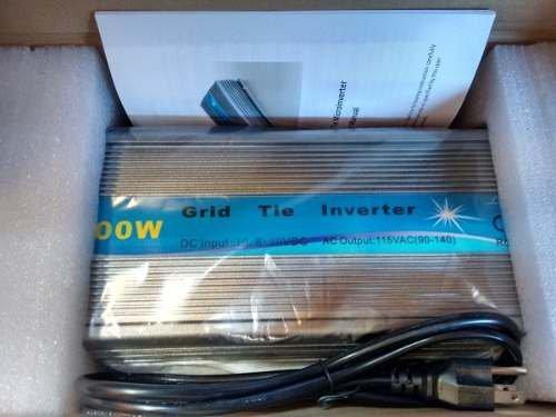 Inversor On Grid Tie 10,5v A 28v 1000w 110/220v