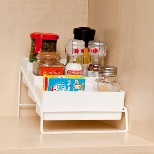 Porta Condimentos Para Bancada Cozinha Armario Casa Metaltru