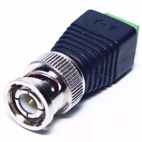 Kit 100 Pçs Conector Bnc Com Borne