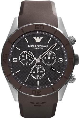 fa536c5580e Relógio Emporio Armani Ar9501 Titanium Original Garantia 12x ...
