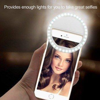 Selfie Ring Light - Luz De Selfie Ring Light Lindas Fotos
