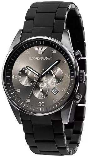 4cabcd06992 Relógio Empório Armani Ar5889 Preto Original Completo ...