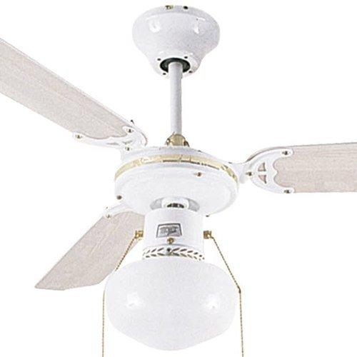 Ventilador De Teto Hl-17 3 Pás 1 Globo 220v Cod 1017.2