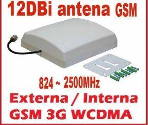 antena painel direcional 12db multibanda 3g