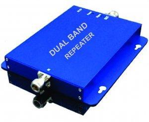 dual band repetidor celular 3g gsm 850 2100mhz com antena repetidora interna 70db