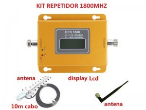 kit amplificador completo repetidor celular 1800mhz