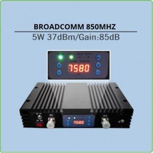 repetidor celular 5w para 850mhz até 10km de alcance