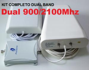 repetidor celular dual band gsm 3g frequências 900 2100mhz