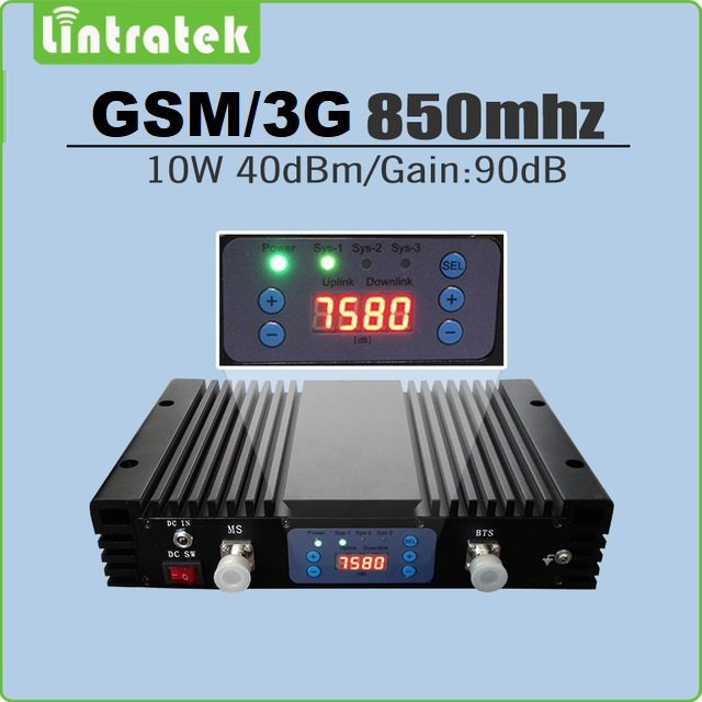 repetidor celular 10w para 850mhz para até 20km de alcance
