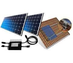 Gerador Solar Fotovoltaico 960kwh com microinversor completo