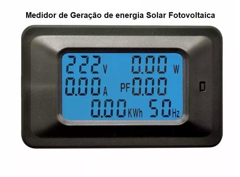 Gerador Solar Fotovoltaico 1280kwh com microinversor completo