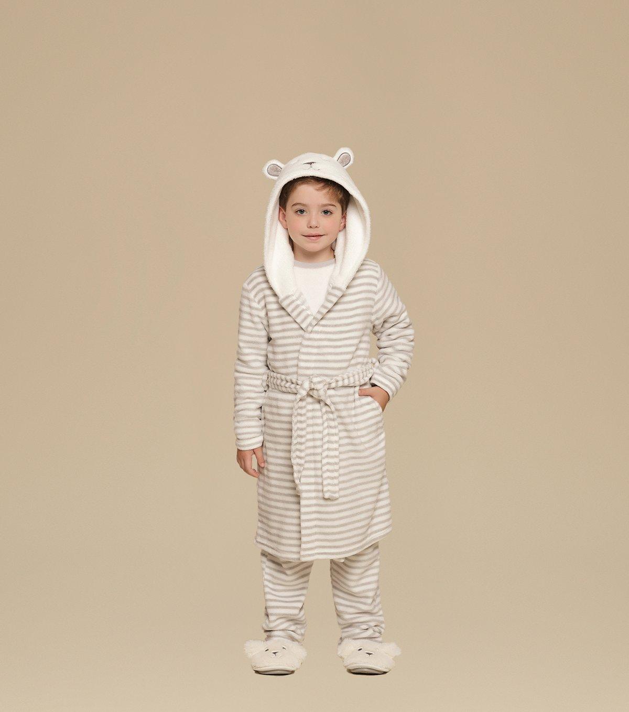 Robe Manga Longa com Capuz Infantil - 67327