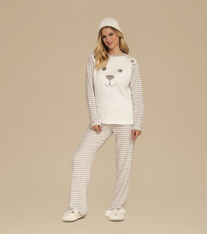 Pijama Manga Longa - 10552