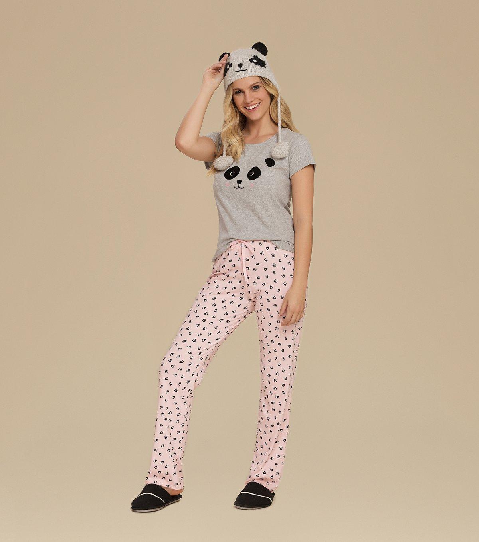 Pijama Manga Curta - 10680