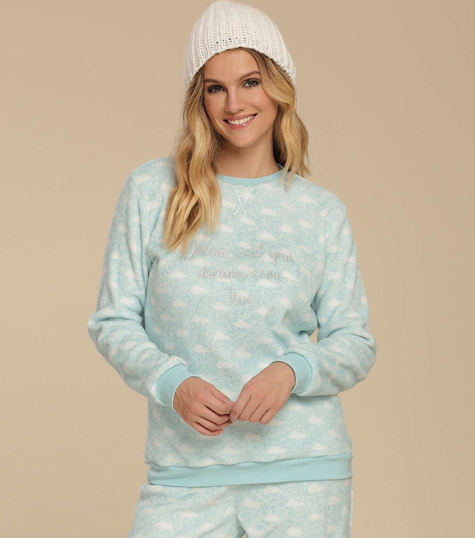 Pijama Manga Longa - 10564