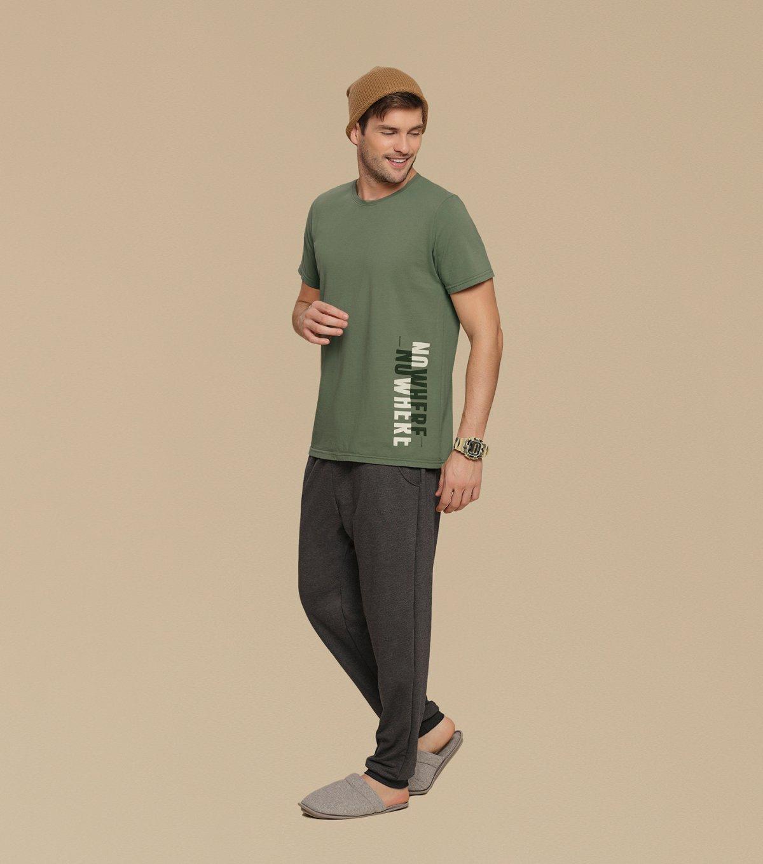 Pijama Manga Curta - 66281